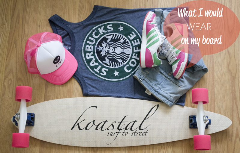 what i would wear with longboard